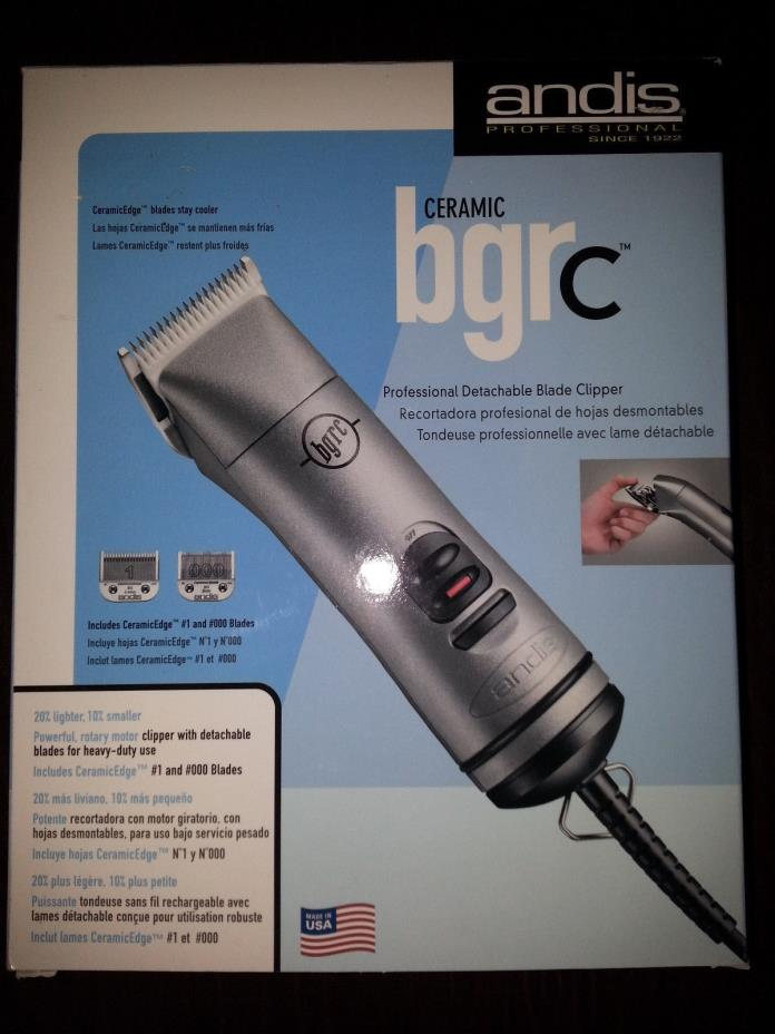 NEW Andis Ceramic BGRC Clipper Professional Detachable Blade Hair Clipper #63965