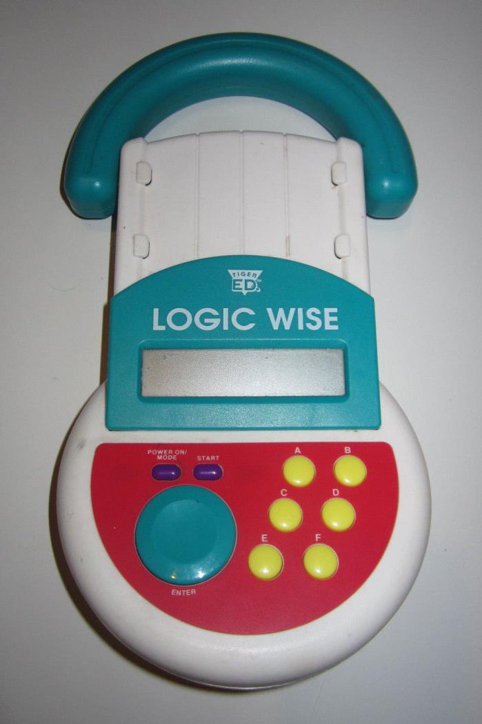 Tiger ED Logic Wise 1995 Needs CARDS To Work