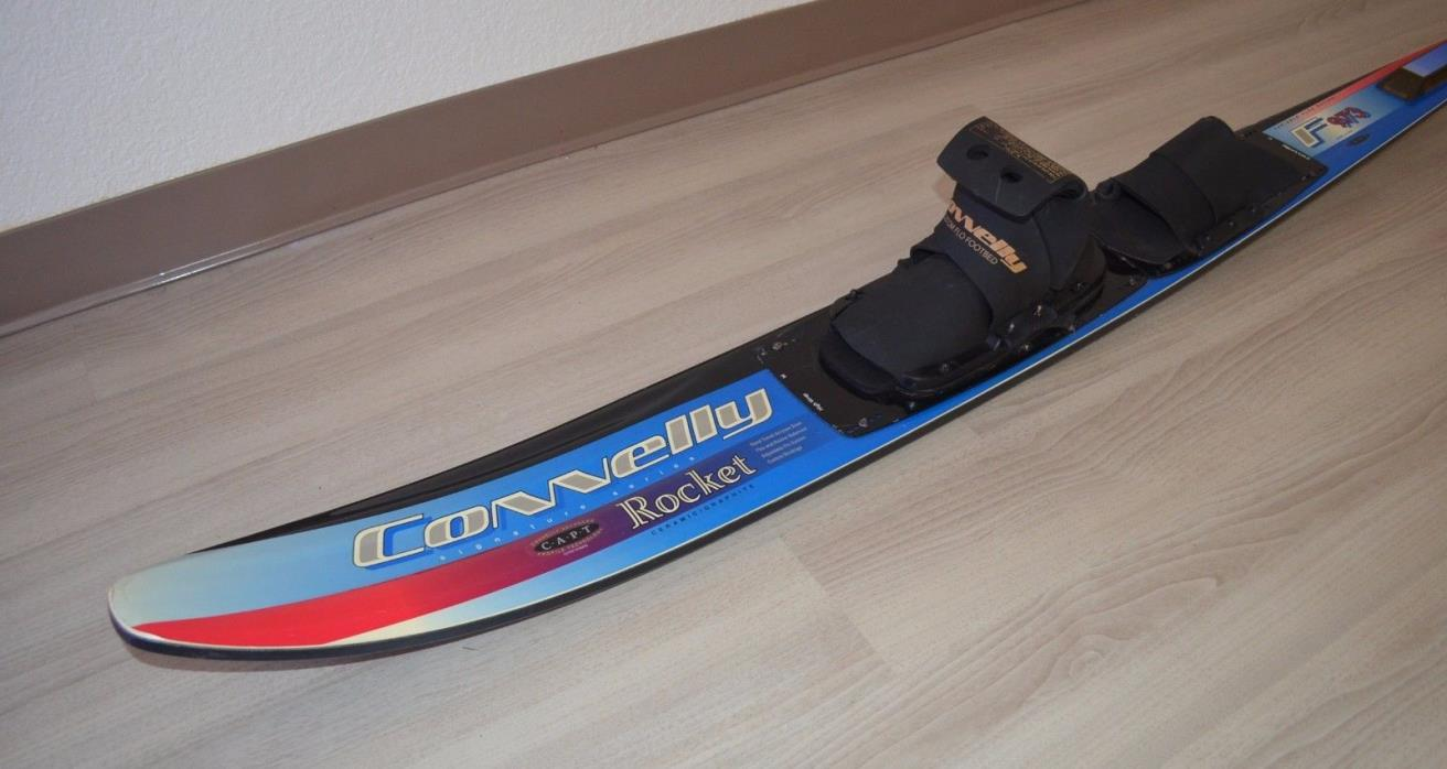 Connelly Rocket Signature Series F973 Ceramic Graphite Slalom Water Ski 65