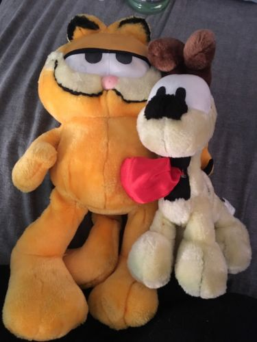 Garfield And Odie Plush