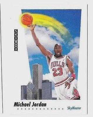 MICHAEL JORDAN BULLS 1992 SKYBOX #583