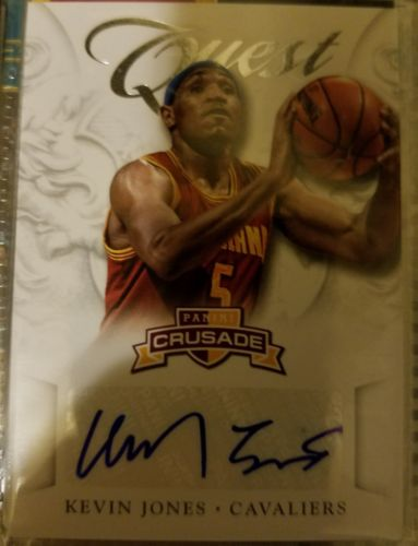 2012-13 Crusade Kevin Jones Quest Auto RC *Cavaliers