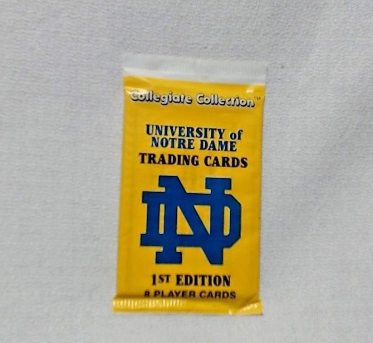 NIP Collegiate Collection University of Notre Dame Trading Cards 1st Edition