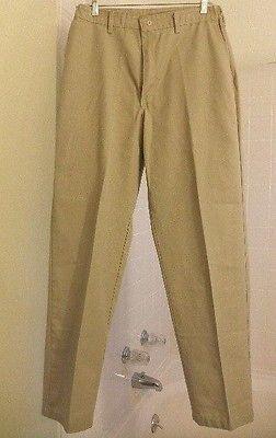 NEW!  Men's RED KAP 33/34 Khaki work / casual slacks PANTS - Inseam 33.5