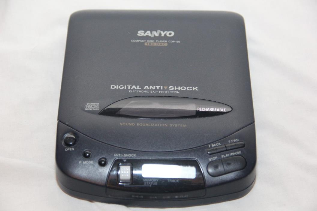 Vintage, Sanyo, CD Player, CDP-55, 1994