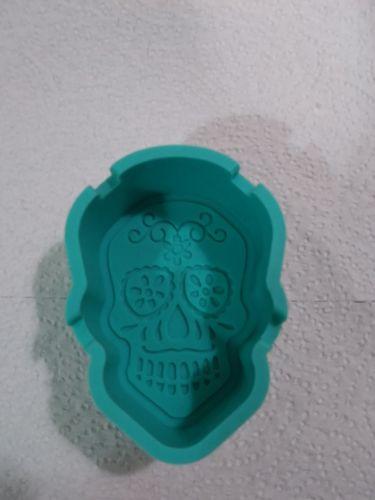 Sugar Skull wax, candy, soap silicone mold