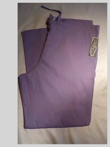 NEW WITH TAGS WOMENS SCRUBZONE PANTS ORCHID SIZE LARGE