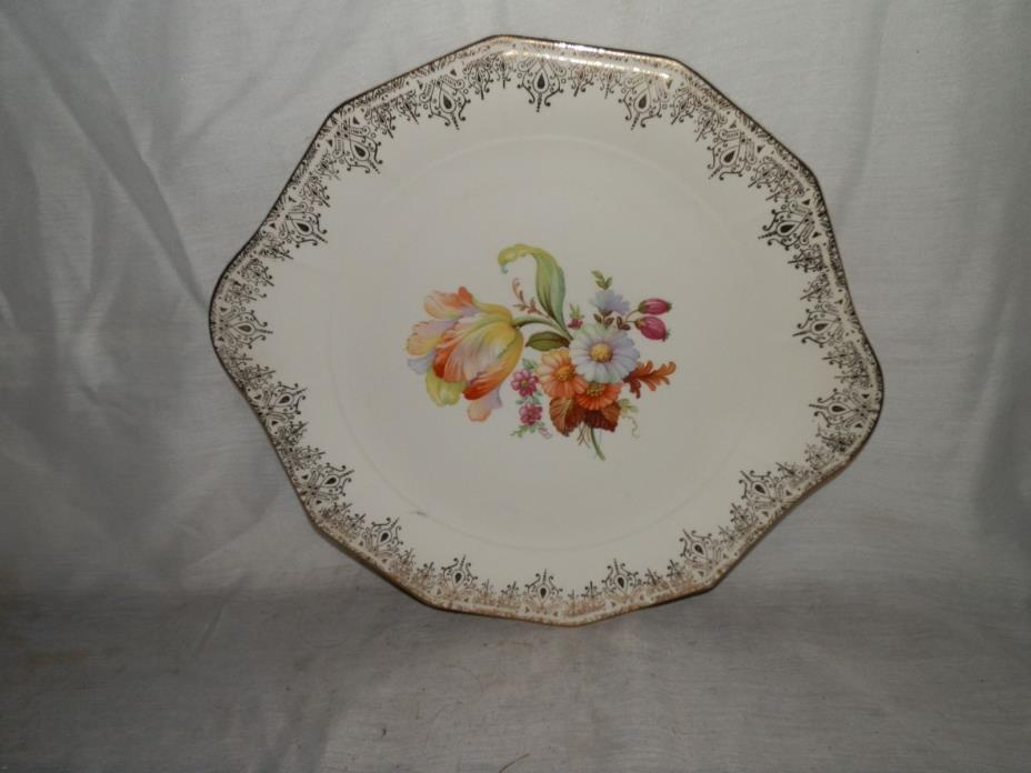 Vintage,1940's, Royal China,Waldorf,12-36,22-K Gold,10