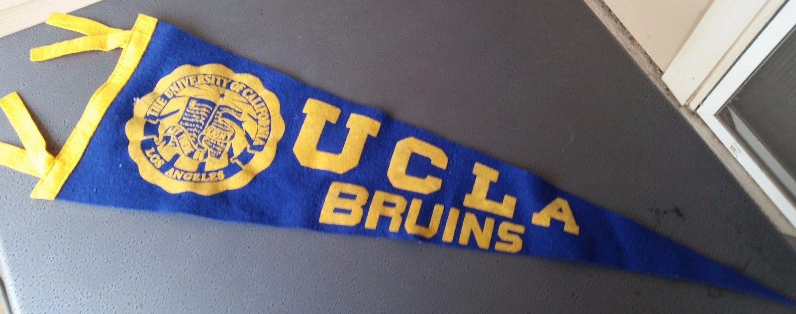 Vintage 1940s-1950s UCLA Bruins Pennant