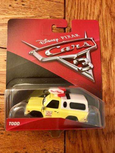 Mattel Disney Pixar Cars 3 TODD Pizza Planet Truck Walgreens Exclusive Rare
