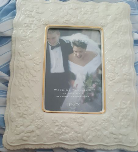 lenox wedding promises frame