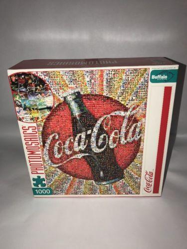 Photomosaics Coca Cola 1000 Pieces Puzzle