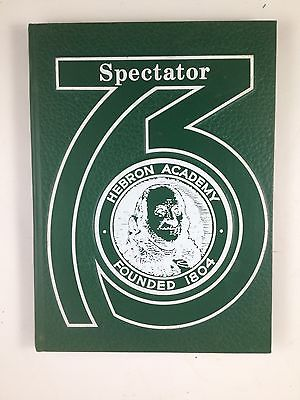 Hebron Academy Spectator ~ 1973 Yearbook
