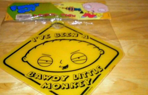 Family Guy Baby Stewie Car Window Sign