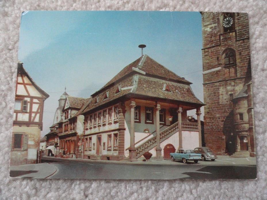 Wine street in Freinsheim, Germany   Postcard