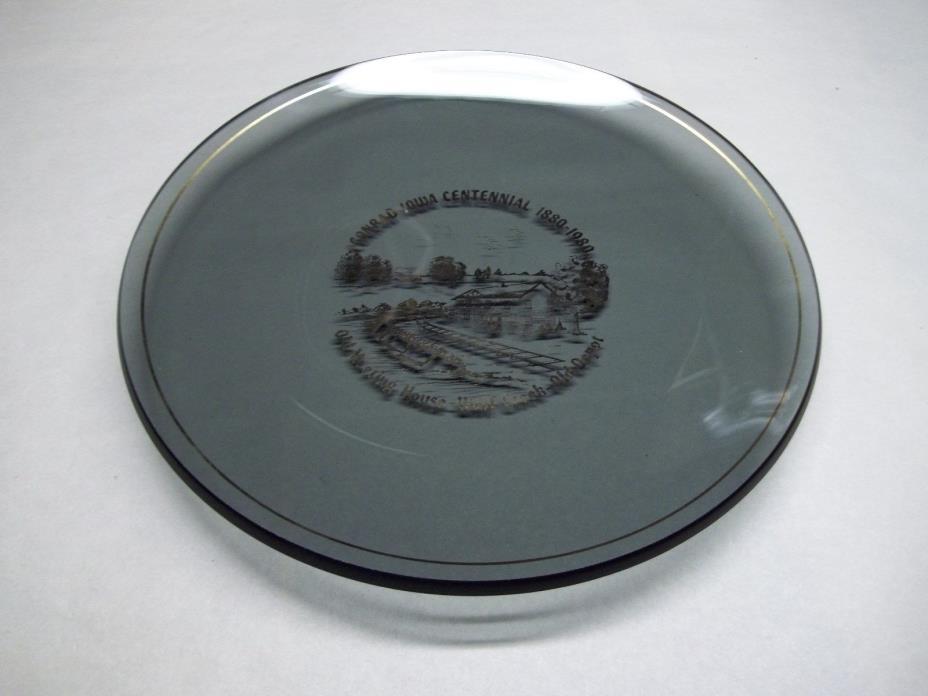 Conrad Iowa Centennial plate 1880 - 1980