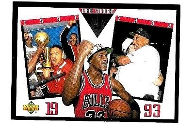 Michael Jordan   1993-94 Upper Deck SP #4 Bulls