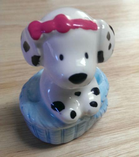 Vintage Sanrio Hello Kitty Spottie Dottie Dalmatian Dog Porcelain Figurine Rare