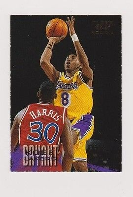KOBE  BRYANT  1996 - 1997  FLEER  ROOKIE  CARD