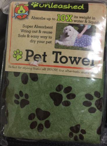 Dogs Unleashed Pet Dog Towel Large 20