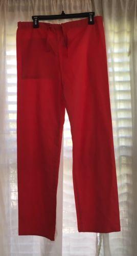 Pink XS Women's Scrubs Style 114 Hot 47 Crest Straight Leg Nurse Work Clothes