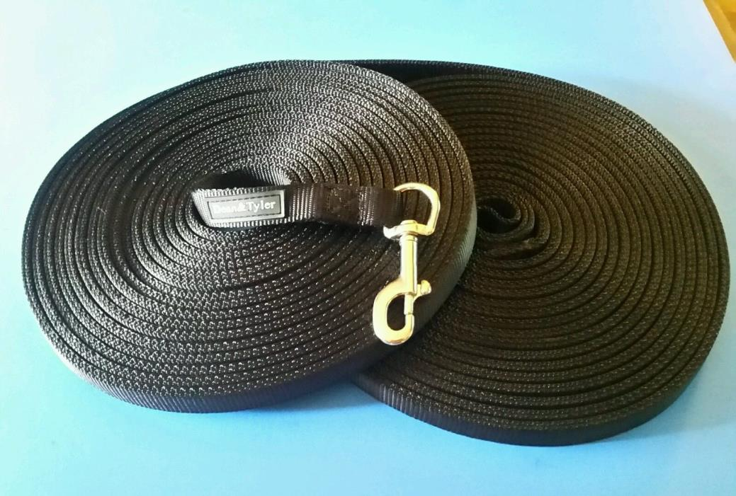DEAN & TYLER Professional Double Ply Nylon Tracking Leash 50+ ft.