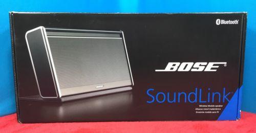 Empty Box Only - BOSE SOUNDLINK BLUETOOTH SPEAKER SERIES I - Original Soundlink