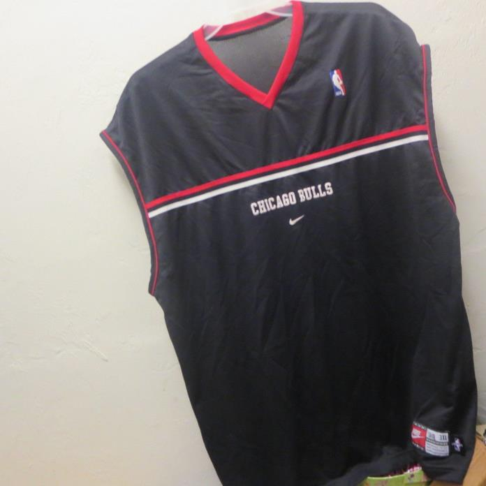 Nike Chicago Bulls Practice Jersey Shirt Nike Men's Size 3XL