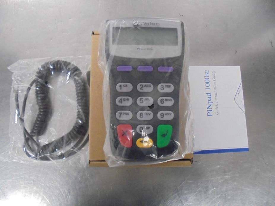 NEW Opened Box Verifone PINpad 1000SE Credit Card Terminal Pad (M263548)