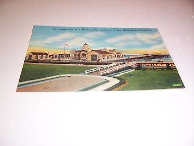 VIintage #157 - Ventor City, N.J. Municipal Pier - Post Card, unposted