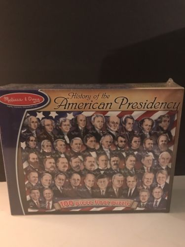 Melissa & Doug 2001 AMERICAN PRESIDENTS FLOOR PUZZLE - 100 PIECES 2 x 3 Ft