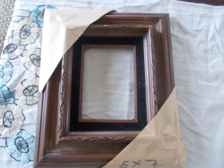 Vintage Deep Wood Frame