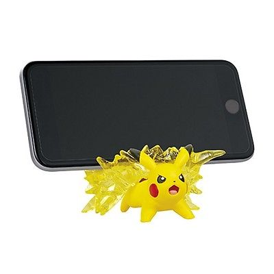 Pokemon 3-Inch Useful Desktop Figure - Pikachu Smartphone Stand