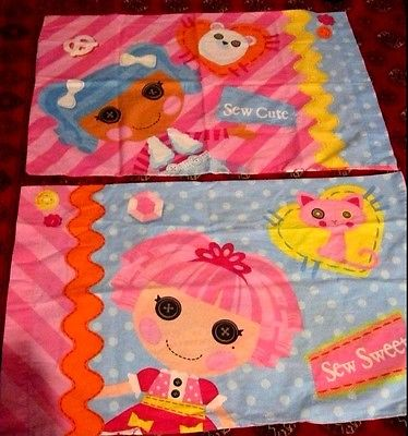 LALALOOPSY SEW MAGICAL FULL SIZE SHEET SET MULTI-COLORED EUC