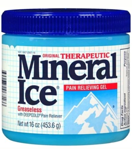 Mineral Ice Topical Analgesic Pain Reliving Gel Greaseless 16 Oz NEW