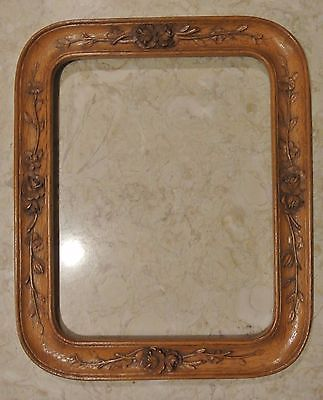 Vintage Resin Floral Frame 17
