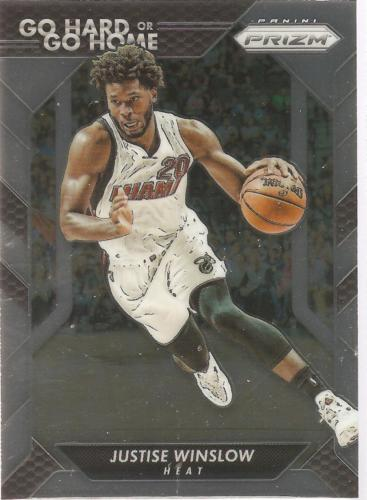 Justice Winslow Prizm 16-17 #12 Go Hard or Go Home Miami Heat