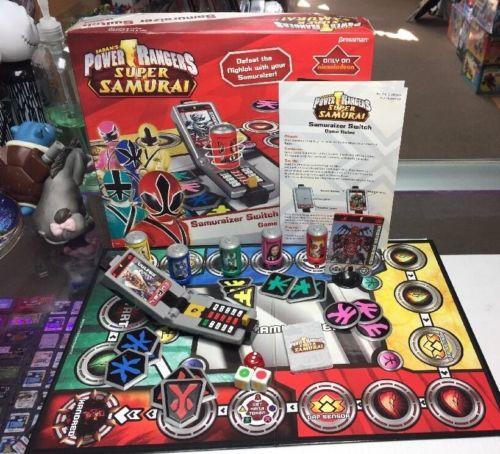 SABAN'S POWER RANGERS SUPER SAMURAI SAMURAIZER SWITCH GAME COMPLETE GAME