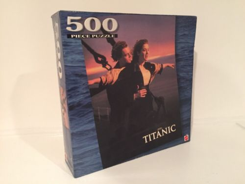 """Titanic"" Movie Mattel Jigsaw Puzzle 500 Piece  Bow Scene New"