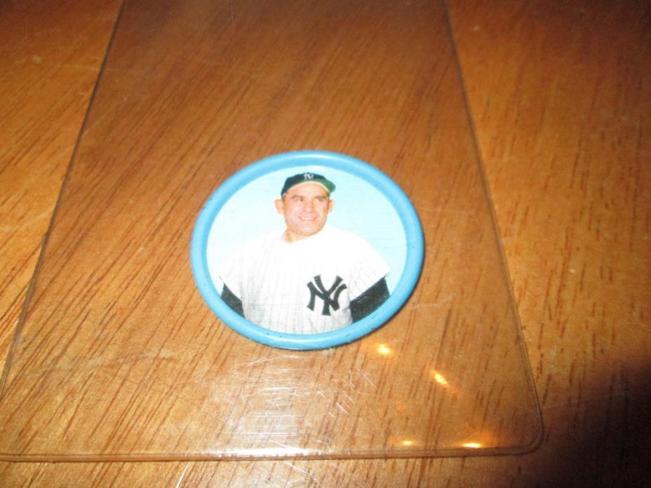 1963 Salada Baseball Coin-Yogi Berra-#62-NY Yankees-NM