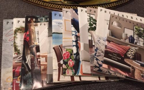 2016 POTTERY BARN Catalog Magazine Series / POTTERY BARN Bed & Bath HOLIDAY (13)