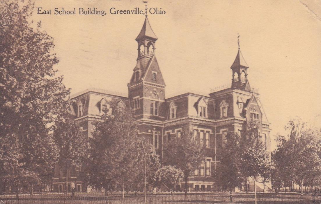 Greenville, OH - East School Building