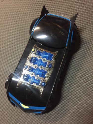 THE BATMAN electronic EXP Batmobile Extreme Power car vehicle Mattel W/ FIGURE