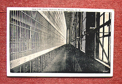 CELL TIERS INTERIOR AUBURN STATE PRISON AUBURN NEW YORK STATE