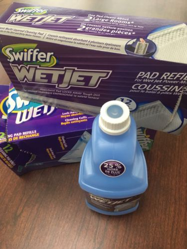 Swifter Wet Jet Cleaner And 20 Pads