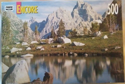 Cascade Canyon Jigsaw Puzzle 500 Pieces Factory Sealed
