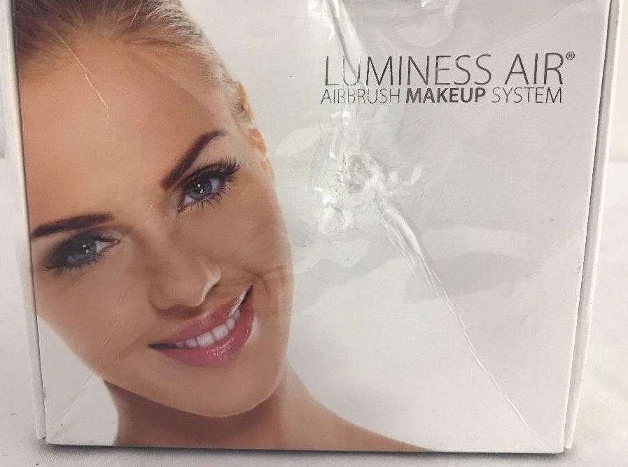 Luminess Air Signature System Black with Medium Makeup Starter Kit SEALED NEW