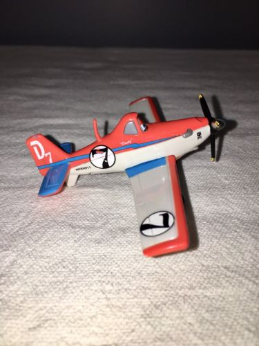 Disney Pixar Planes Movie Toy Airplane #7 Dusty Crophopper Diecast 3.5