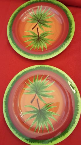 LAURI GATES SALAD PLATES 9 3/4