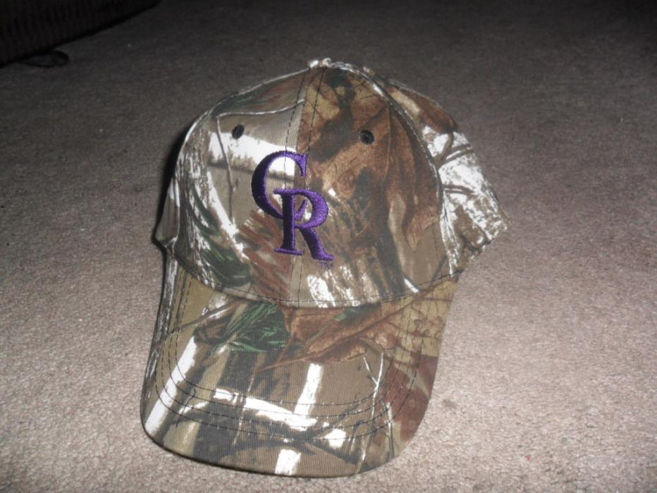 BRAND NEW Colorado Rockies Cameo Hat SGA 5/27/16 /10,000 HTF